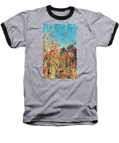 Red Trumpets Playing Baseball T-Shirt