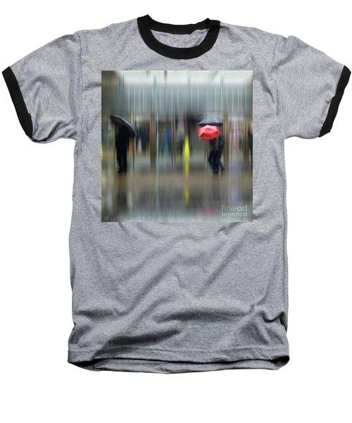 Red Umbrella Baseball T-Shirt