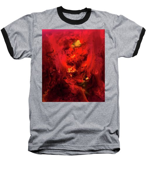 Red Universe Baseball T-Shirt