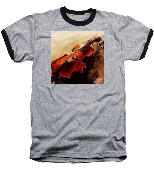 Red Violin  Baseball T-Shirt