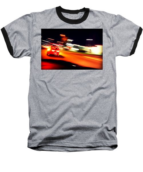 Red Vision Baseball T-Shirt