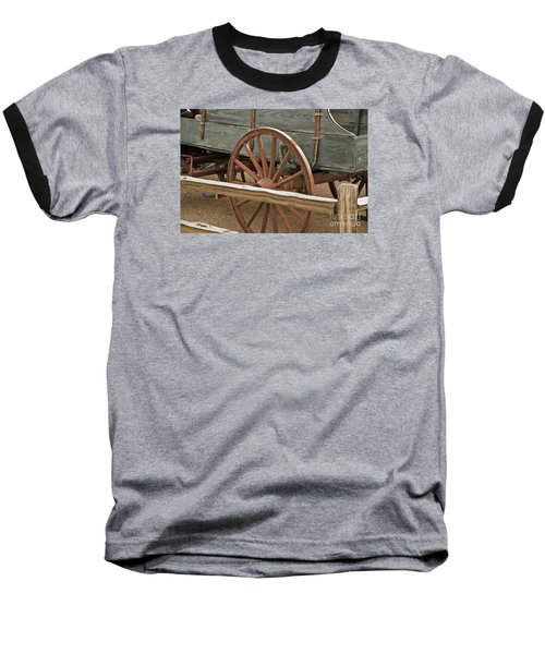 Baseball T-Shirt featuring the photograph Red Wagon Wheel by Kirt Tisdale