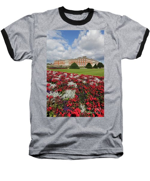 Red White And Blue At Hampton Court Baseball T-Shirt
