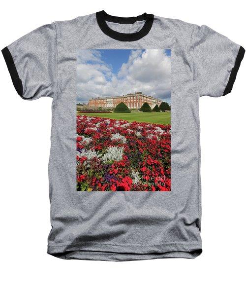 Red White And Blue At Hampton Court Baseball T-Shirt