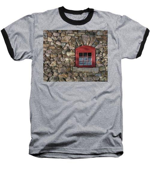 Red Window Baseball T-Shirt