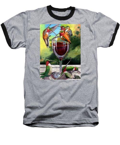 Red Winos Baseball T-Shirt
