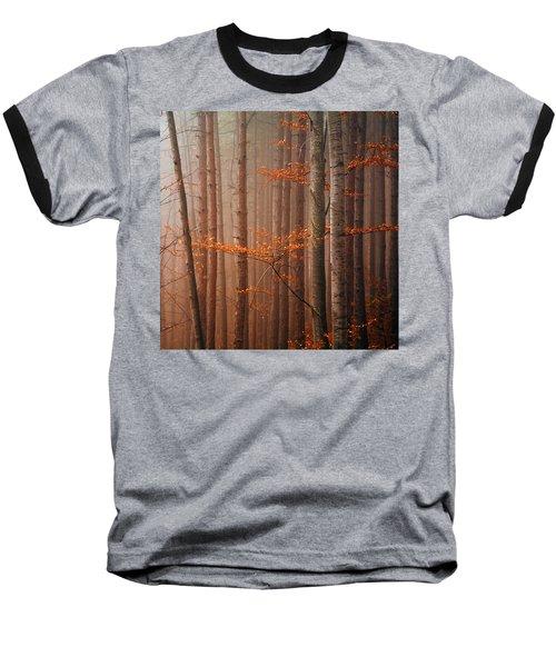 Red Wood Baseball T-Shirt