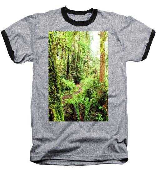 Red Woods Trail Baseball T-Shirt