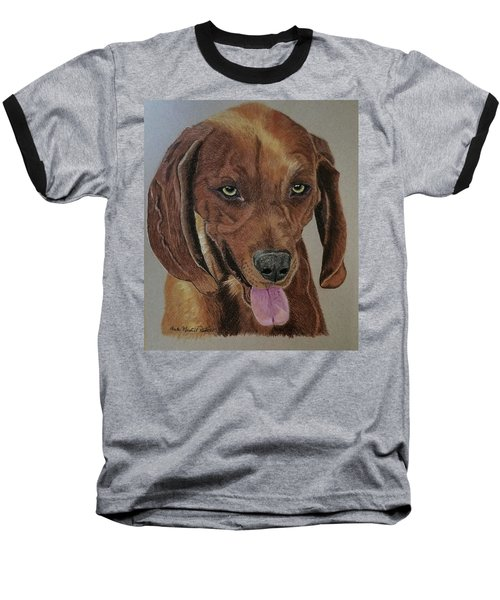 Redbone Coonhound Baseball T-Shirt