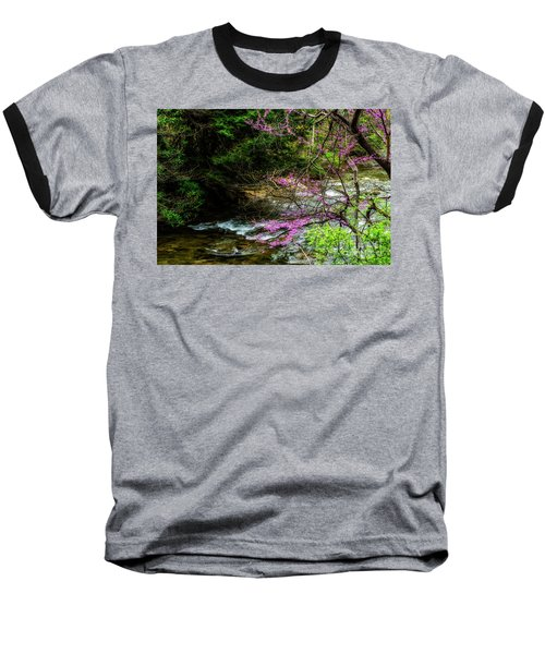 Redbud And River Baseball T-Shirt