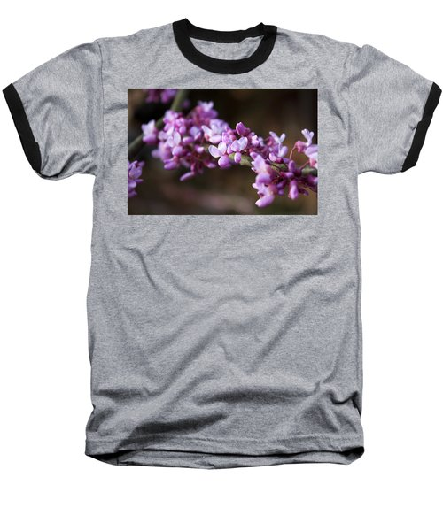 Baseball T-Shirt featuring the photograph Redbuds In March by Jeff Severson