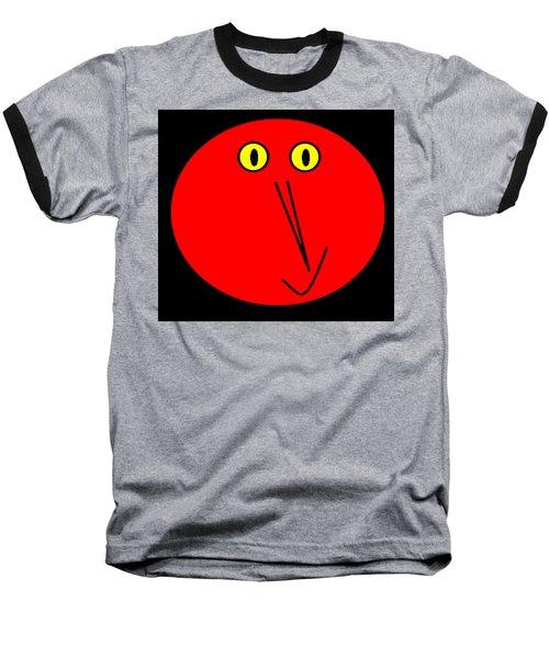 Reddddyyy Baseball T-Shirt by Cletis Stump