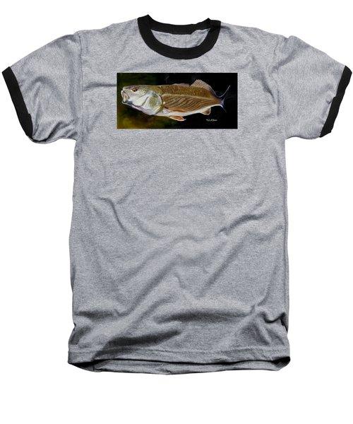 Redfish Study  Baseball T-Shirt by Phyllis Beiser