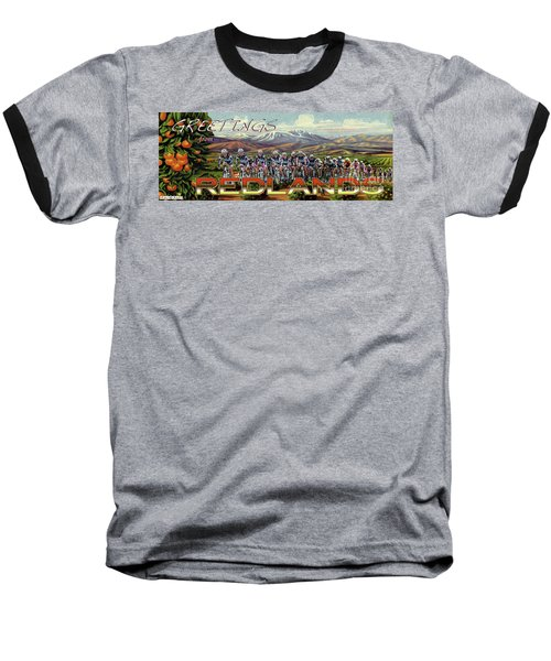 Redlands Greetings Baseball T-Shirt