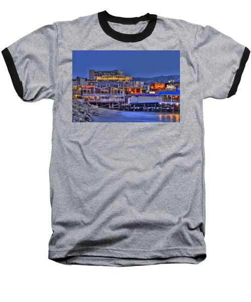 Redondo Landing Baseball T-Shirt by Richard J Cassato