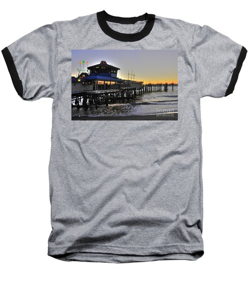 Redondo Pier North Baseball T-Shirt