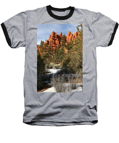 Redrock Winter Baseball T-Shirt