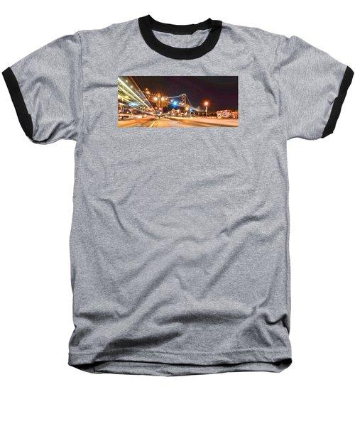 Red's Java House Baseball T-Shirt by Steve Siri