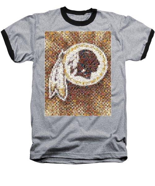 Redskins Mosaic Baseball T-Shirt