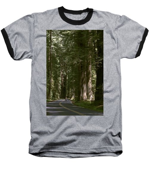 Redwood Highway Baseball T-Shirt by Wes and Dotty Weber