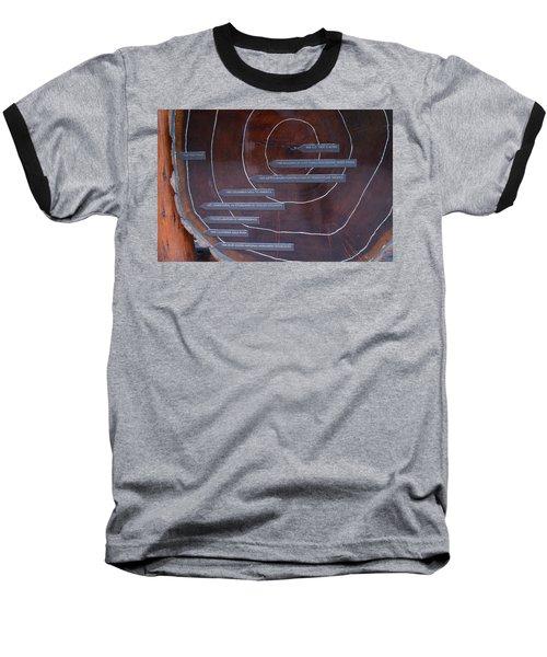 Redwood History Baseball T-Shirt