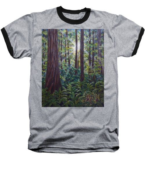 Redwoods Baseball T-Shirt