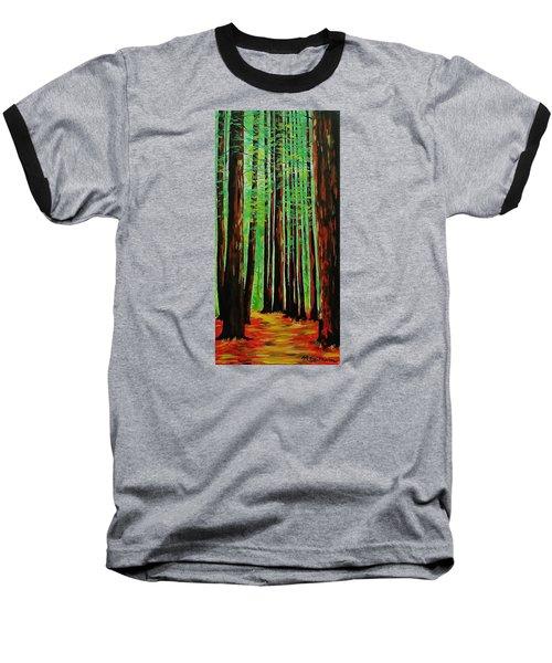 Redwoods Majestic 2 Baseball T-Shirt by Mike Caitham