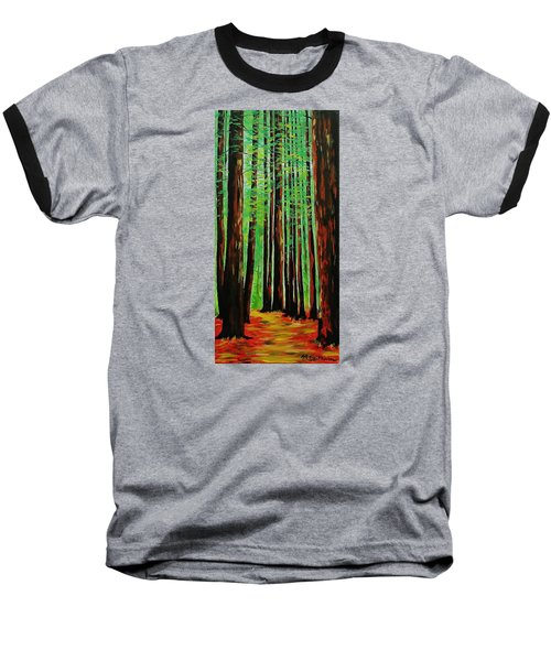 Redwoods Majestic 2 Baseball T-Shirt