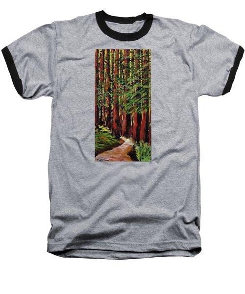 Redwoods Majestic 1 Baseball T-Shirt by Mike Caitham
