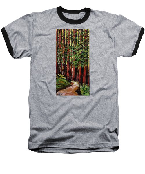 Redwoods Majestic 1 Baseball T-Shirt