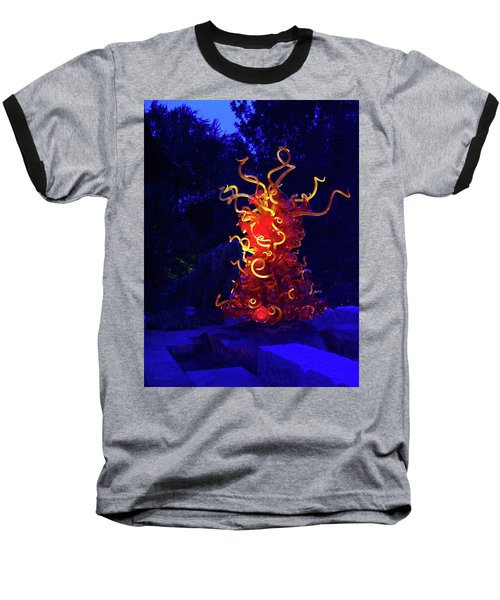 Redyellowbluenight Baseball T-Shirt