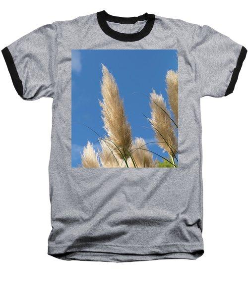 Reeds Against Sky Baseball T-Shirt