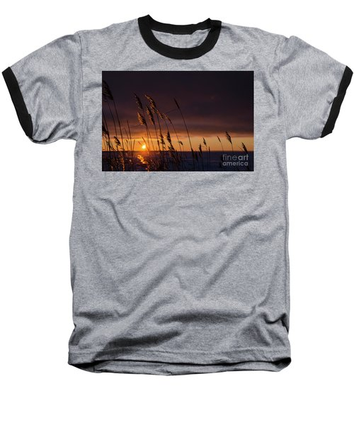 Reeds By Sunset Baseball T-Shirt