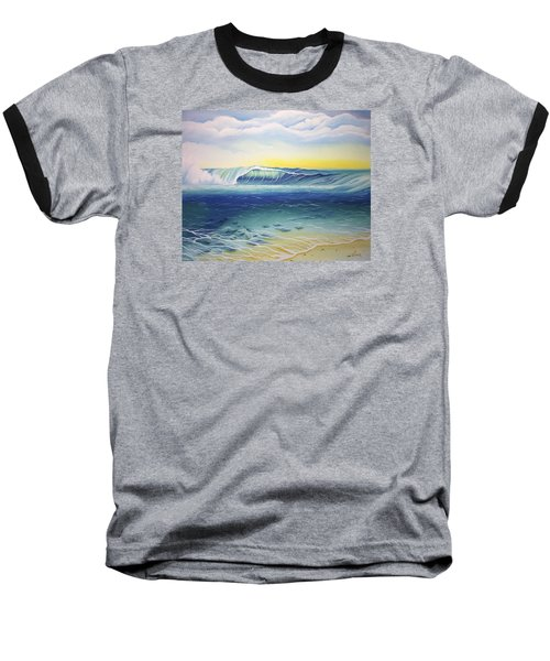Reef Bowl Baseball T-Shirt by William Love