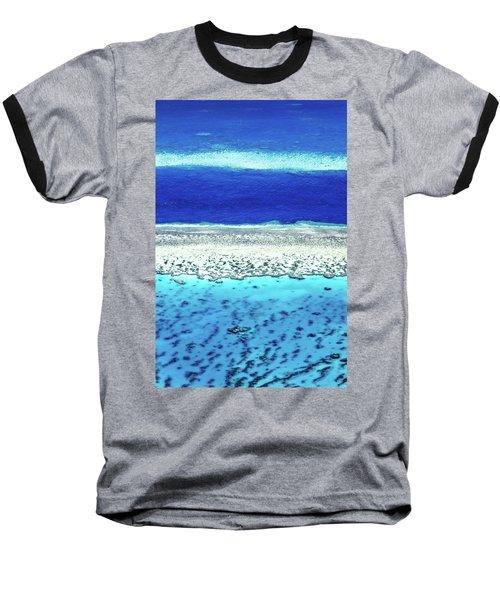 Baseball T-Shirt featuring the photograph Reefs Edge by Az Jackson