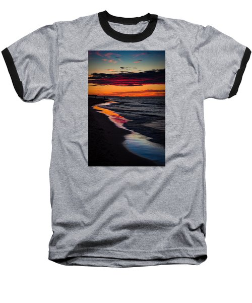 Reflect On This Baseball T-Shirt by Peter Scott
