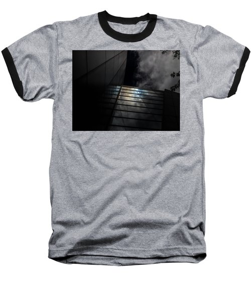 Reflected Clouds Baseball T-Shirt