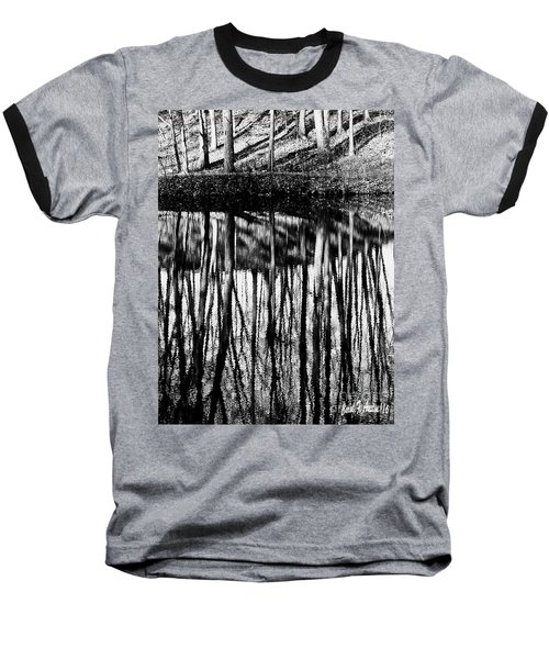 Reflected Landscape Patterns Baseball T-Shirt