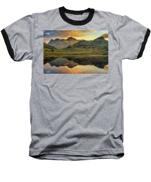 Reflected Peaks Baseball T-Shirt
