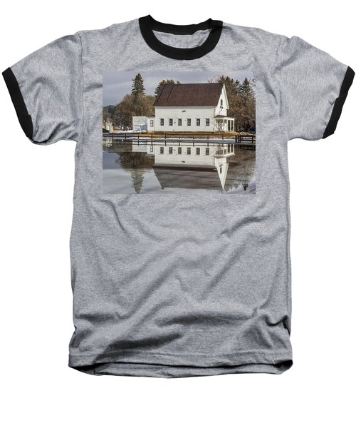 Reflected Town House Baseball T-Shirt