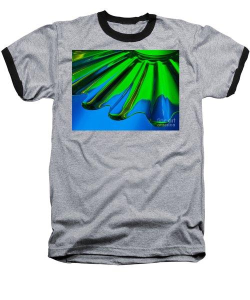 Reflected Baseball T-Shirt by Trena Mara