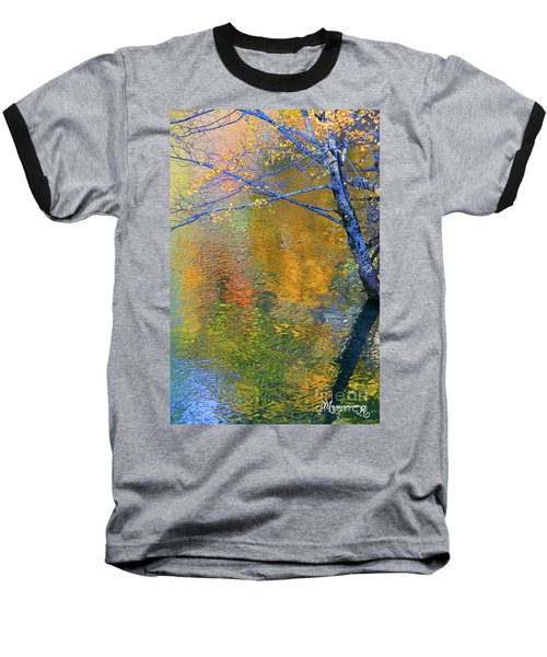 Reflecting Autumn Baseball T-Shirt