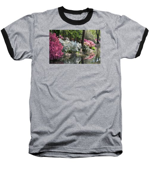 Reflecting Azaleas Baseball T-Shirt