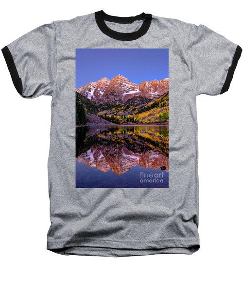 Reflecting Dawn Baseball T-Shirt