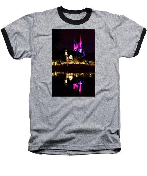 Reflecting Dreams Baseball T-Shirt by William Bartholomew