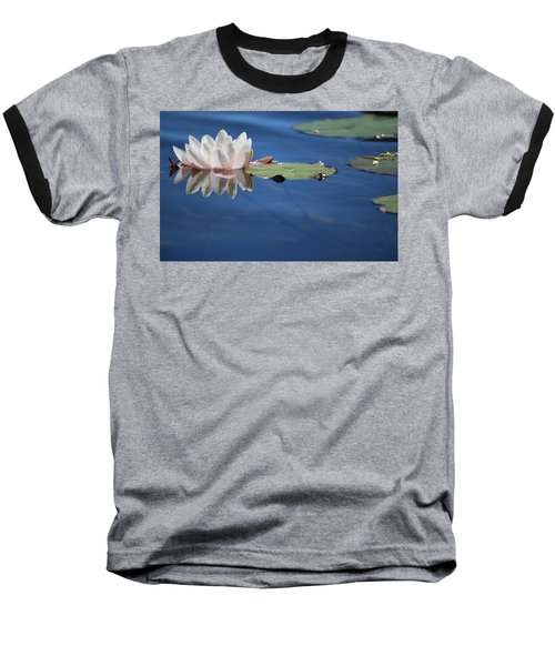 Reflecting In Blue Water Baseball T-Shirt
