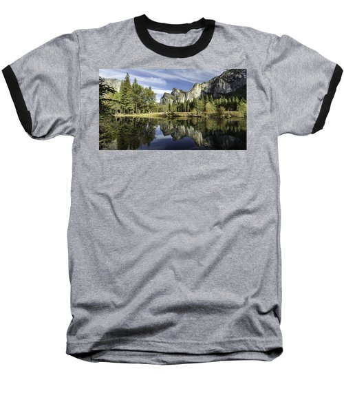 Reflecting On Yosemite Baseball T-Shirt