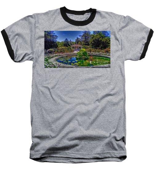 Reflecting Pool At Colonial Park Baseball T-Shirt