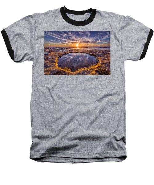 Reflecting Pool Baseball T-Shirt