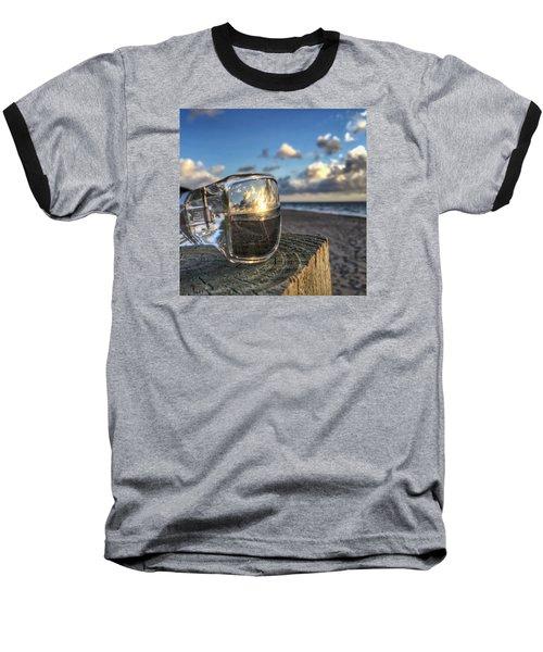 Reflecting Sunglasses Baseball T-Shirt
